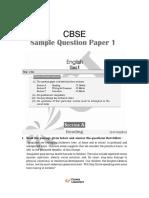 Sample Paper - English