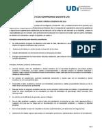 Acta de Compromiso Docente - 2016-2