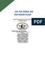 Plan de Area de Matematicas 2