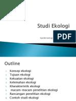 Studi Ekologi