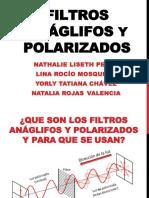 Filtros Anáglifos y Polarizados