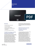 Samsung SSD 850 EVO Data Sheet Rev 3 1
