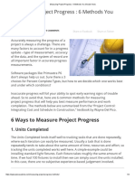Measuring Project Progress _ 6 Methods You Should Know