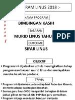 Cadangan Program Intervensi 2018