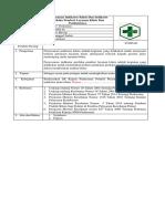 9123 Sop Bukti Peran Aktif Penyusunan Indikator Mutu Klinis Dan Indikator Perilaku
