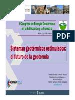 Celestino Garcia de La Noceda Sistemas Geotermicos Estimulados