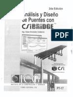 ANÁLISIS Y DISEÑO DE PUENTES CON CSIBRIDGE™  -  [Alvarado Calderón]