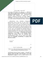 Pichay v. Office of the Deputy Executive Secretary