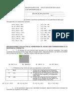 Examen Extraordinario Mate 15 - 16