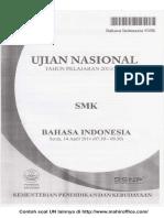 Soal UN B. Indonesia SMK 2014 syarief