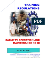 TR - CATV Operation & Maintenance NC III