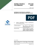 NTC-ISO50001