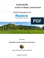 Guide Book of Geological Excursion to Bayat - Santos