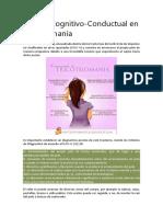 Terapia Cognitivo en Tricotilomanía