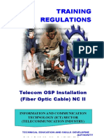TR - Telecom OSP Installation (Fiber Optic Cable) NC II.doc