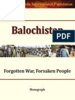Balochistan Forgotten War Forsaken People