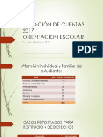 Informe 2017 Orientacion Escolar