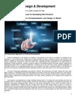 Design & Development OfProduct