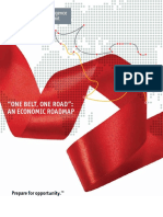 One Belt One Road an Economic Roadmap