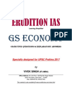 Indian Economy GS Prelims 2017