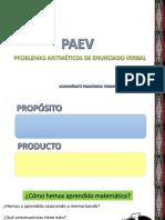 Matemática - Paev - Cambio - Friedrich