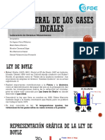 Ley General de Los Gases Ideales