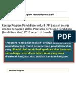 Program Pendidikan Inklusif