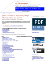[EEE] ELECTRICAL ENGINEERING Multiple Choice Questions & Answers.pdf
