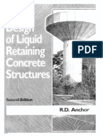 Design of Liquid Retaining Structure R D Angor
