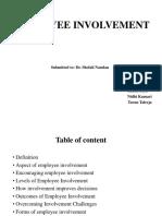 Employeeinvolvement 131203054608 Phpapp01(1)