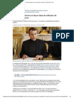 Emmanuel Macron Se Lance Dans La Réforme de l'Islam de France