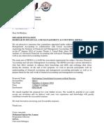 BDO Letter of Invitation