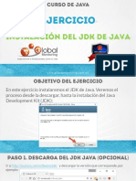 CJ B Ejercicio 01 Instalacion Jdk Windows