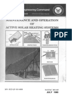Handbook - Maintenance and Operation of Active Solar Heating Systems