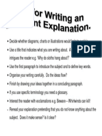 explanatory writing tips