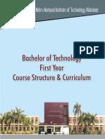 1st Yr Curriculum MLNIT
