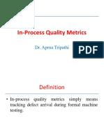 In Process Quality Metrics