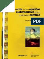 El Error en Los Aparatos Audiov Schianchi Alejandro
