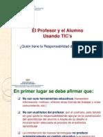 Profesor y Alumno Usando Tic