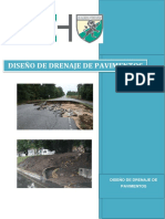 Informe de Pavimentos Drenaje
