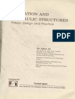 Irrigation and Hydraulic Structures by Dr. Iqbal Ali (Book 2)