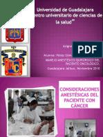 44245520 Consideraciones Anestesicas Del Paciente Con Cancer 120918212245 Phpapp01
