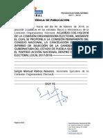 Acuerdo Coe 143/2018
