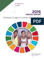 Progress Report2016