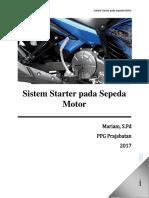 Modul 3.3 Memahami Prinsip Kerja Sistem Starter