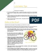bicycle safety stauffer hyrum