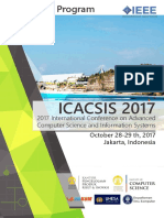 Advanced Program ICACSIS 2017 v5