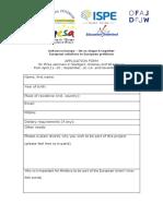 Application Form OFAJ