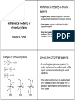 Mathematical Modeling of Dynamic Systems
