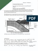 Volcanoes Worksheet 1 KEY